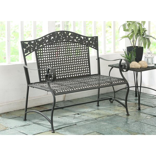 Pemberville Metal Garden Bench by Darby Home Co Darby Home Co