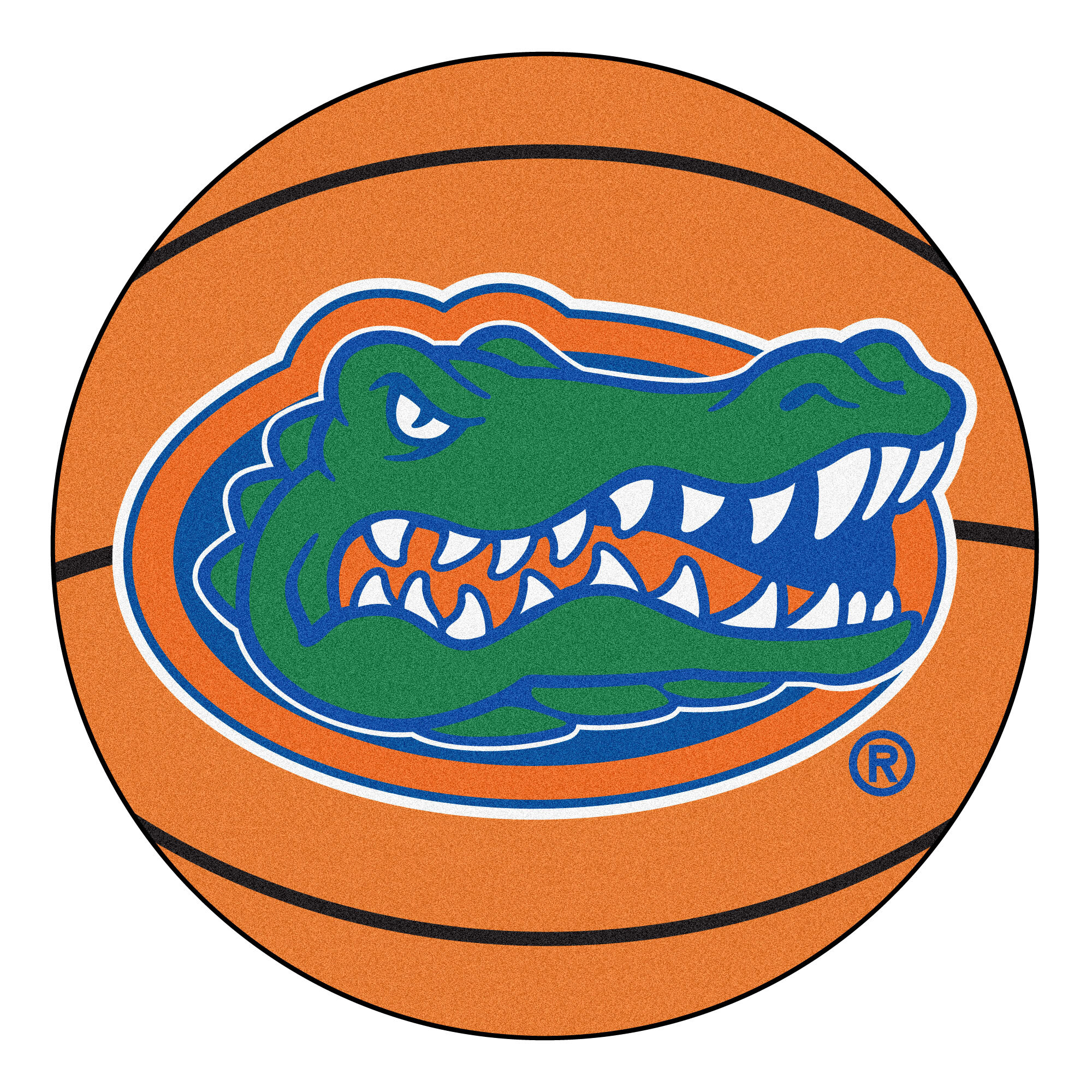 Fanmats Ncaa University Of Florida Basketball 27 In X 27 In Non Slip Indoor Only Mat Wayfair