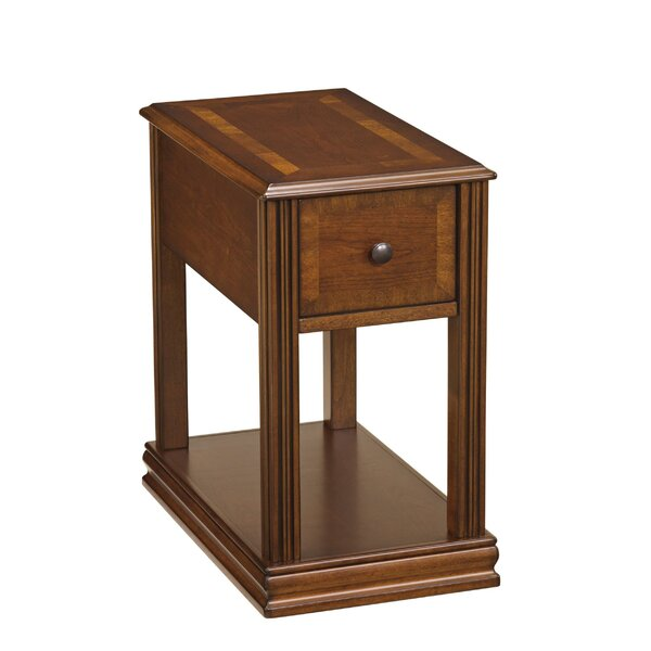 Kinneola Floor Shelf End Table With Storage By Red Barrel Studio