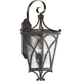Bargain Alexandra 3-Light Outdoor Wall Lantern By Fleur De Lis Living