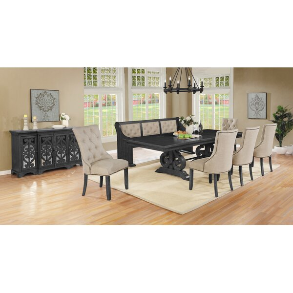 Hillview 8 Piece Extendable Dining Set by One Allium Way One Allium Way