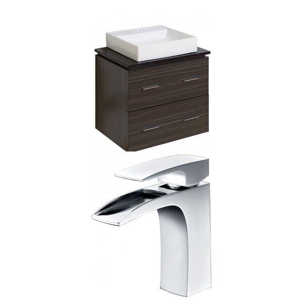 Xena Quartz 24 Single Bathroom Vanity Set by American Imaginations
