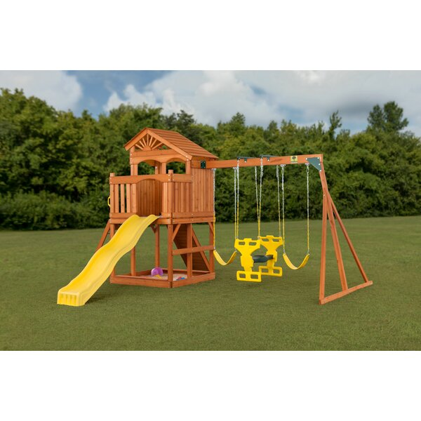 Timber Valley Swing Set by Creative Cedar Designs