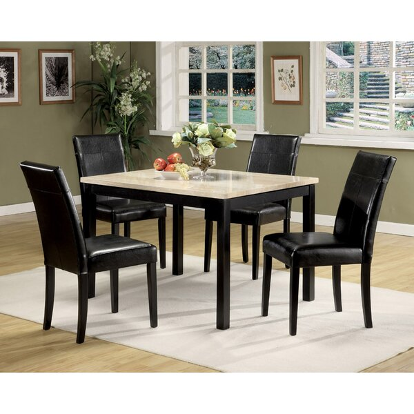 Milner 5 Piece Dining Set by Winston Porter