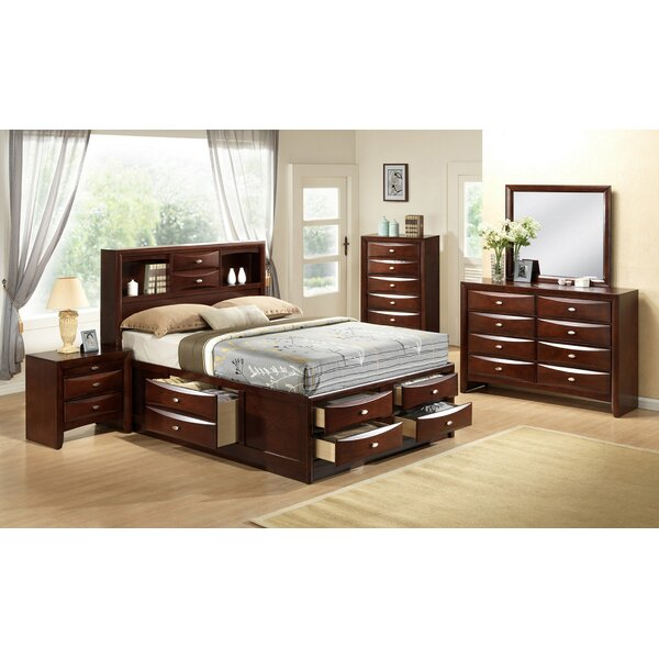 Alidge Platform Solid Wood 6 Piece Bedroom Set by Grovelane Teen