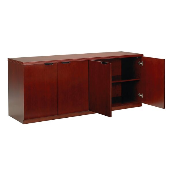 Luminary Series 4 Door Credenza by Mayline Group
