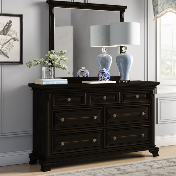 Banwell 7 Drawer Dresser with Mirror by Canora Grey