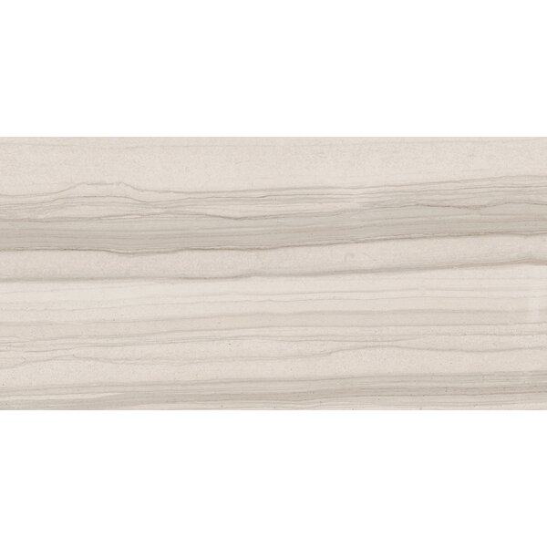 Burano 12 x 24 Ceramic Field Tile in Bianco Valetta by Interceramic