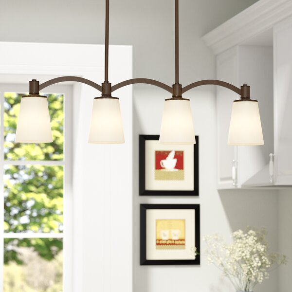 Smithville 4-Light Kitchen Island Pendant by Charlton Home