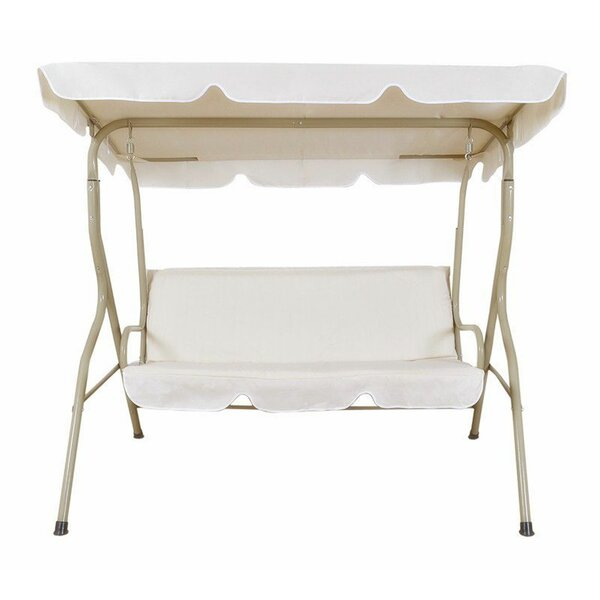 Rudd 2 Person Canopy Porch Swing with Stand by Winston Porter