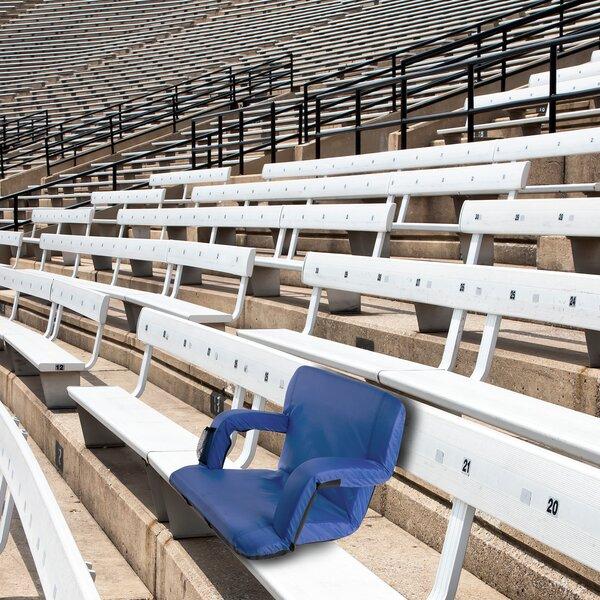 Marshallville Wide Reclining/Folding Stadium Seat with Cushion by Freeport Park Freeport Park