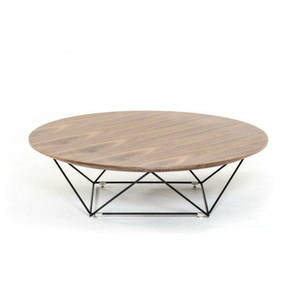 Djanira Wooden Top Coffee Table by Brayden Studio