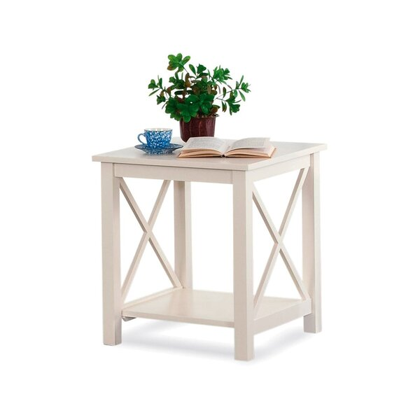 Compass End Table By Braxton Culler New