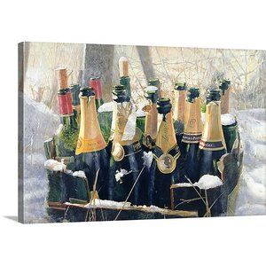 Boxing Day Empties, 2005 by Lincoln Seligman Painting Print on Canvas by Canvas On Demand