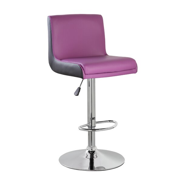 Adjustable Height Swivel Bar Stool by eurosports