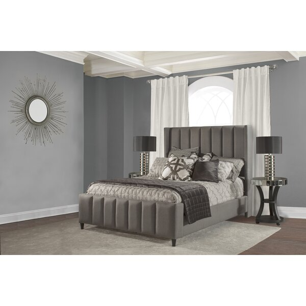 Claudio Upholstered Standard Bed by Fleur De Lis Living