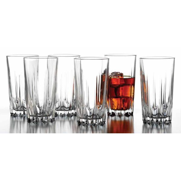 Florence 14.75 oz. Highball Glass (Set of 6) by Style Setter