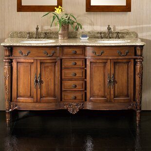 Savings Karen 60 Double Bathroom Vanity Set ByOve Decors