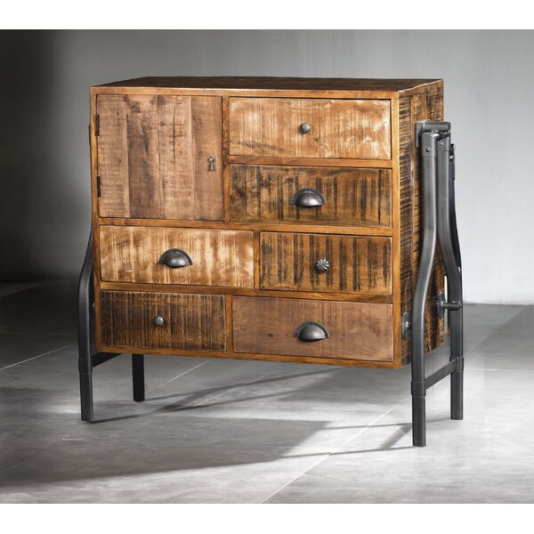 Waring Mosaic 7 Drawer Combo Dresser by Williston Forge
