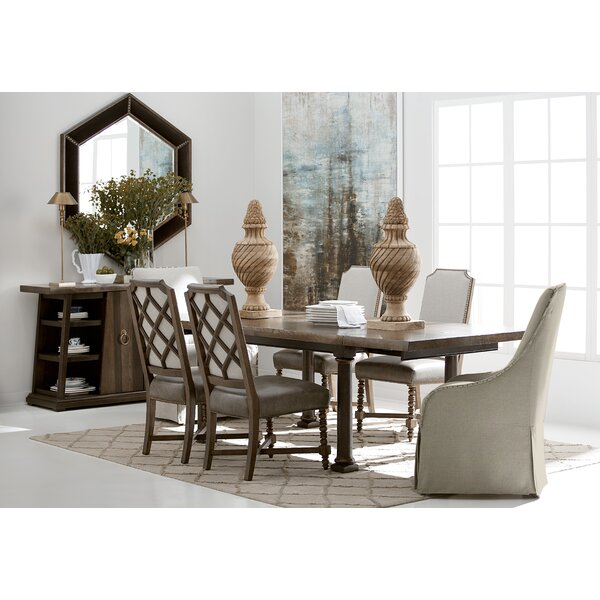 Christchurch Live Edge 7 Piece Extendable Dining Set by Canora Grey