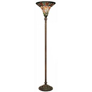 Purchase Roses 72 Torchiere Floor Lamp By Warehouse of Tiffany