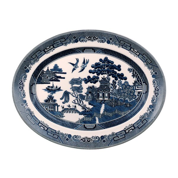 Willow Oval Platter by Johnson Brothers