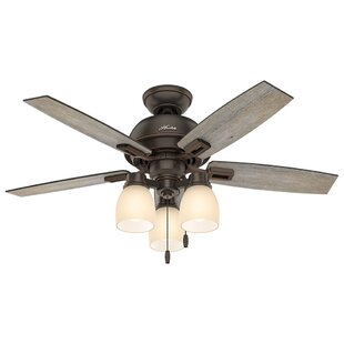 Online Reviews 44 Donegan 5-Blade Ceiling Fan By Hunter Fan