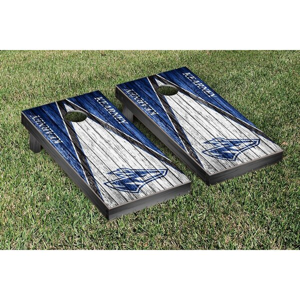 NCAA Weathered Triangle Version Cornhole Game Set by Victory Tailgate