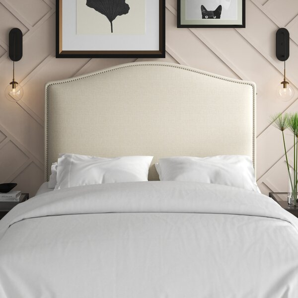 Zoe Upholstered Panel Headboard by Mercury Row Mercury Row