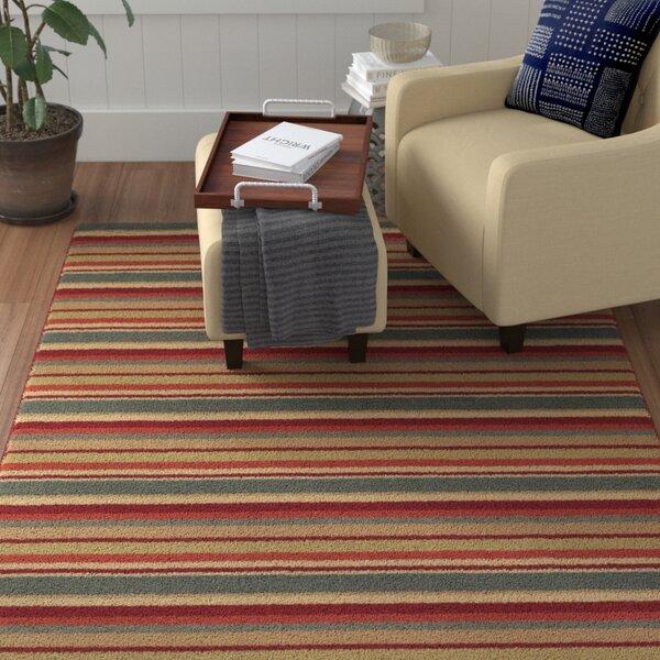 Delores Stripes Area Rug by Winston Porter