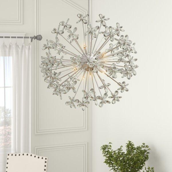 Angie 8 - Light Sputnik Sphere Chandelier By Everly Quinn
