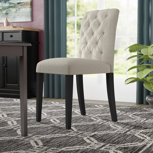 Arcade Duchess Upholstered Dining Chair by Charlton Home