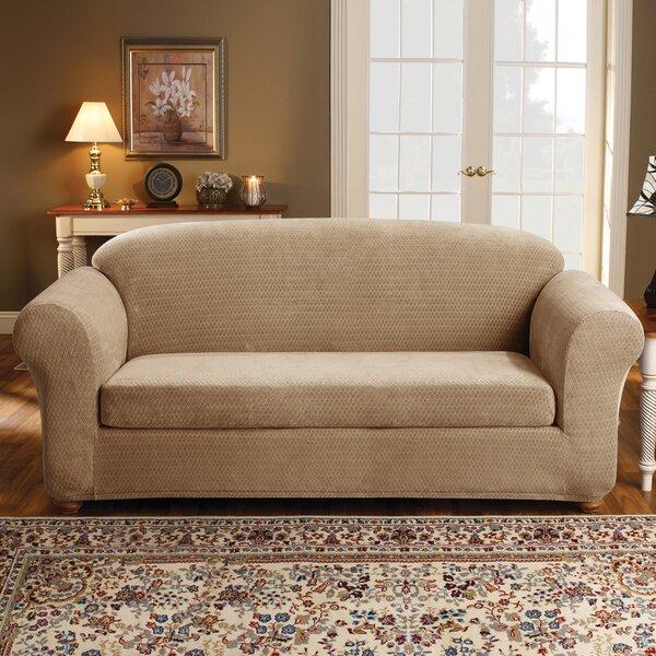 2 Piece Strech Royal Diamond Sofa Slipcover Set by Sure Fit
