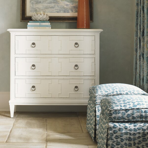 Ivory Key 3 Drawer Standard Dresser by Tommy Bahama Home