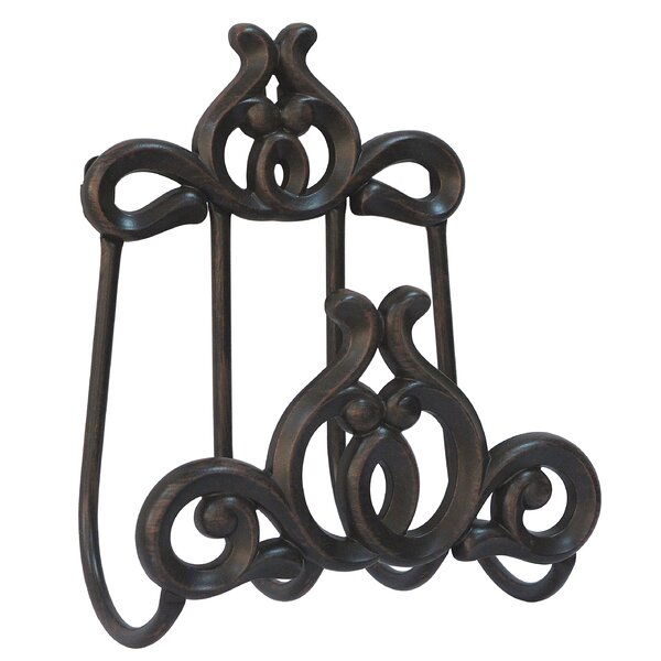 Austin Cast Aluminum Wall Mounted Hose Holder by Innova Hearth and Home