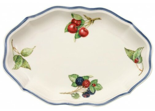 Cottage Pickle Dish / Gravy Boat by Villeroy & Boch
