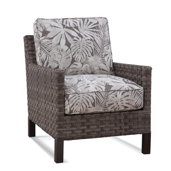 Luciano Patio Chair with Cushions by Braxton Culler