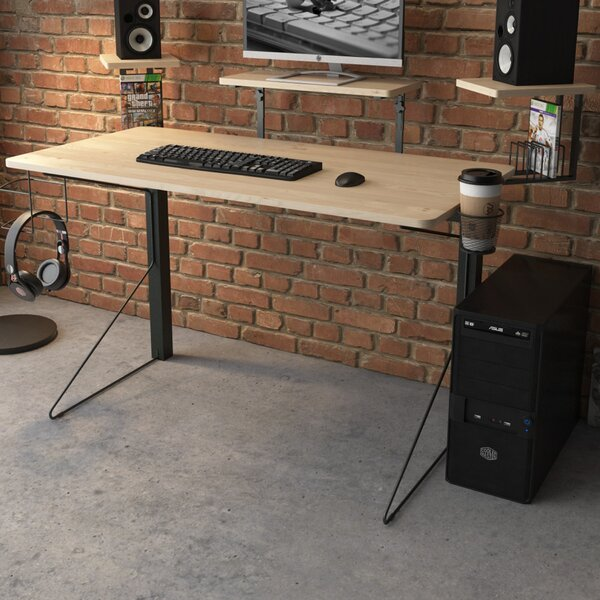 Johnathan Gaming Computer Desk by Symple Stuff