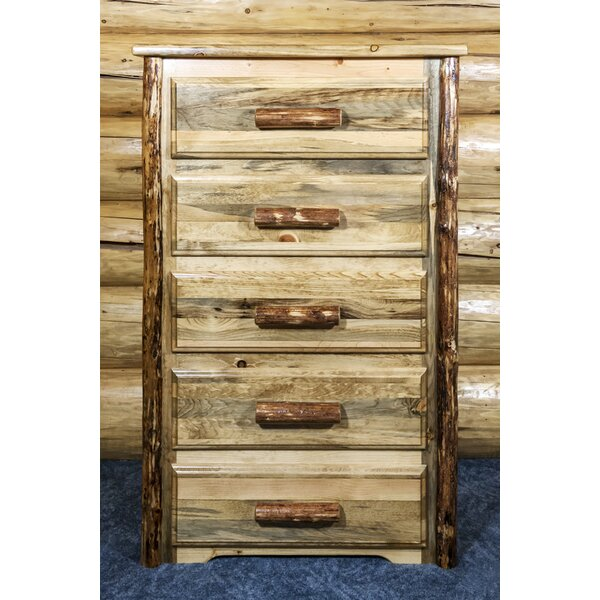 Ayansh 5 Drawer Chest by Foundry Select