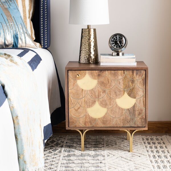 Seitz Nightstand by Bungalow Rose