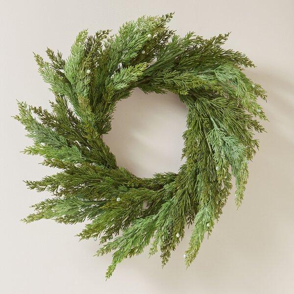 Faux Cedar Wreath by Birch Lane™