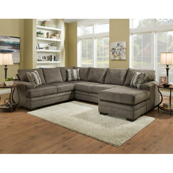 Pellot Left Hand Facing Sectional With Ottoman By Red Barrel Studio