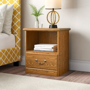 Compare Daniella 1 Drawer Nightstand By Charlton Home