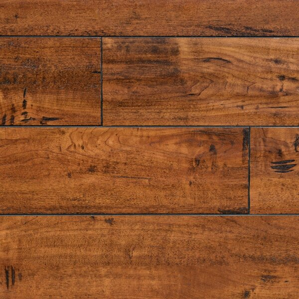 5 x 48 x 12.3mm  Laminate Flooring in Walnut Harrington by Serradon