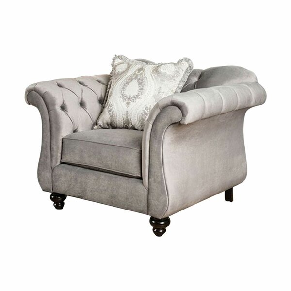 Antoinette Chesterfield Chair by Benzara