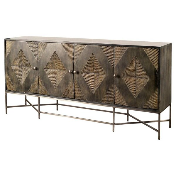 Nemeara 4 Door Accent Cabinet by World Menagerie