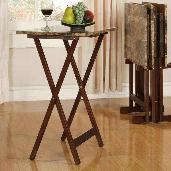 Paredes Tray Table Set by Andover Mills
