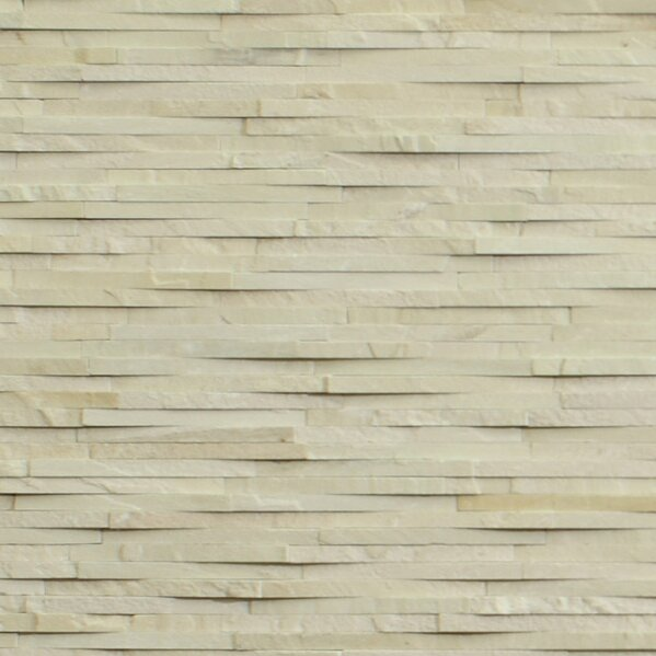 Cladding Stone Splitface Tile in Beige/Cream by Kellani