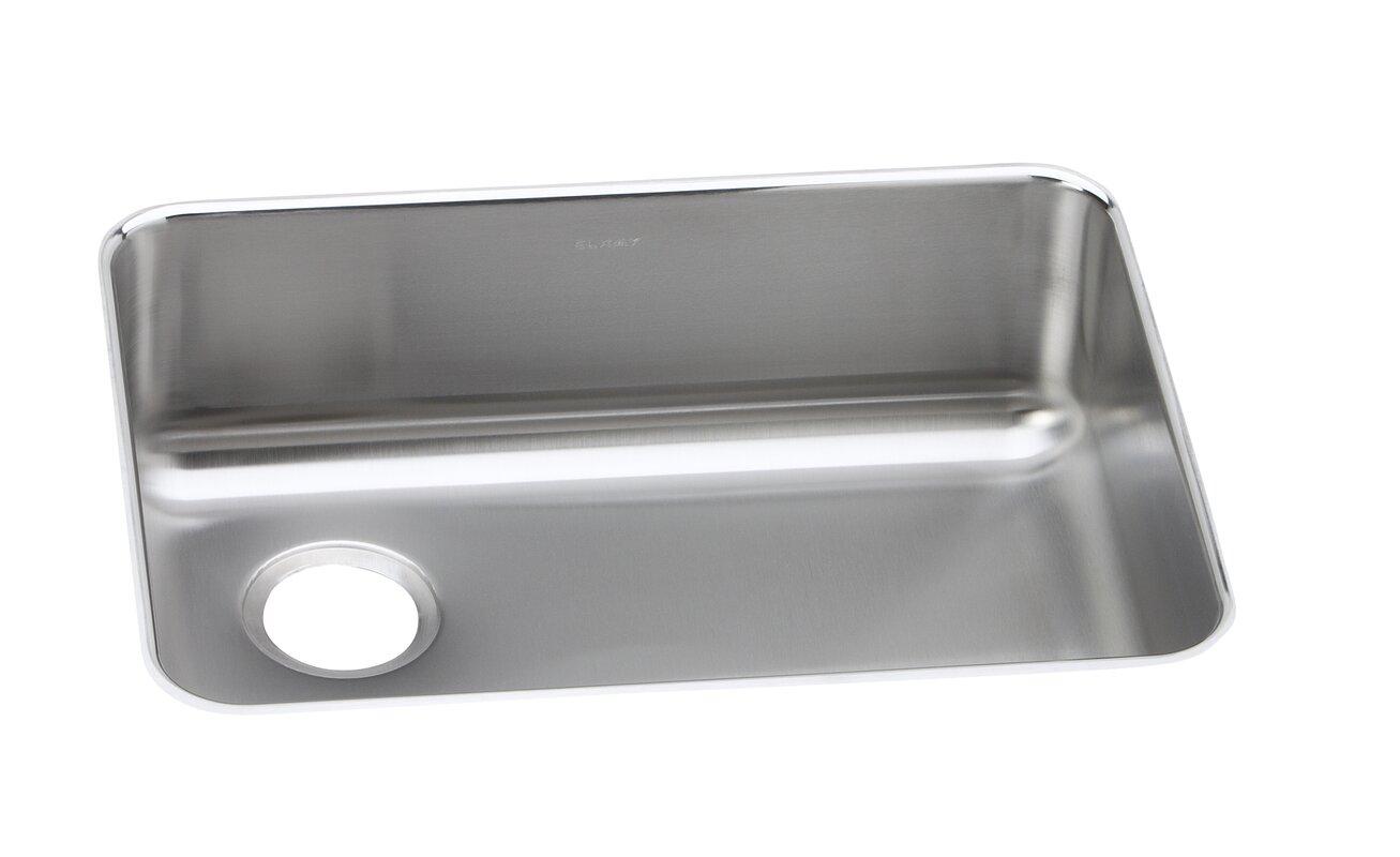 gourmet 25   x 18 75   undermount kitchen sink elkay gourmet 25   x 18 75   undermount kitchen sink  u0026 reviews   wayfair  rh   wayfair com