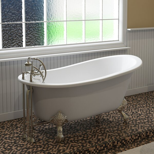 61 x 28 Clawfoot Bathtub by Cambridge Plumbing